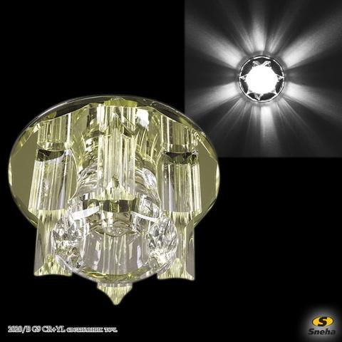 2020/B G9 CR+YL светильник точ.
