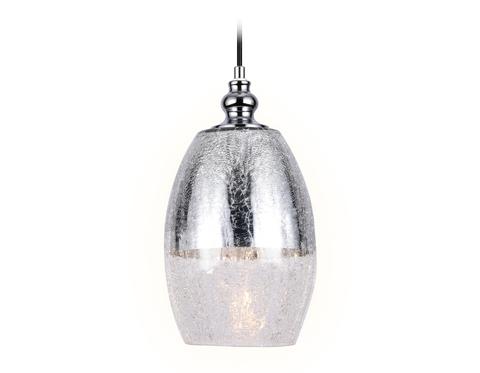 Подвесной светильник со сменной лампой TR3622 CH/CL хром/прозрачный E27 max 40W D150*1050