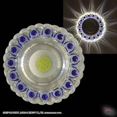 42237-9.0-001PL MR16+LED3W CL/BL светильник точ.