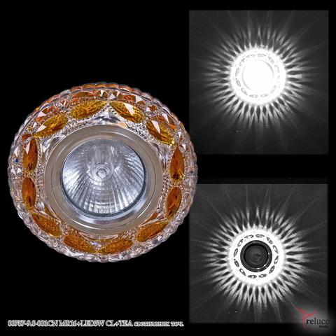 00757-9.0-001CN MR16+LED3W CL+TEA светильник точ.