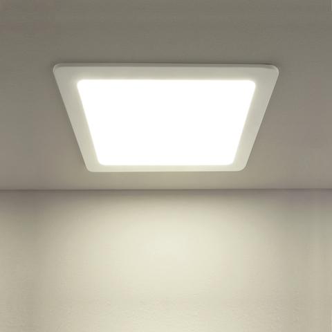 Встраиваемый светодиодный светильник DLS003 18W 4200K
