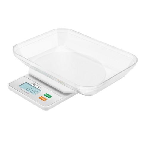 Весы кухонные MARTA MT-1643 высокоточные 0,5 г белый жемчуг
