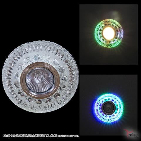 10499-9.0-001CNB MR16+LED3W CL/RGB светильник точ.