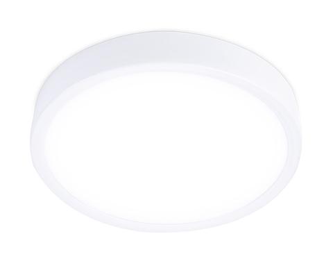Накладной светодиодный светильник DLR364 18W 4200K 200-240V D190*28