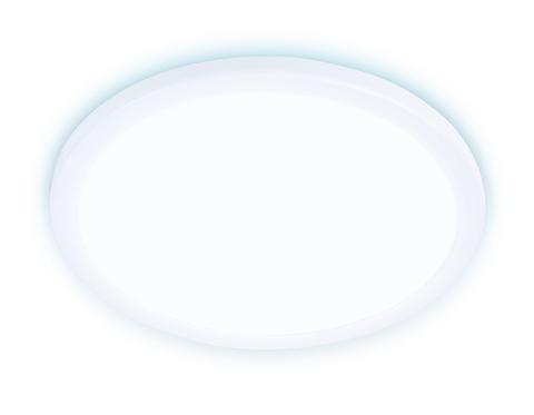Встраиваемый ультратонкий светодиодный светильник с регулируемым крепежом DLR310 15W 6400K 220-240V D175*25 (A50-160)