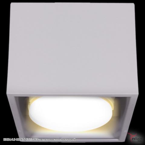 53054-9.5-001CN GX53 WT светильник точ. накладной