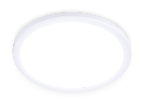 Встраиваемый ультратонкий светодиодный светильник с регулируемым крепежом DLR307 15W 4200K 220-240V D175*25 (A50-160)