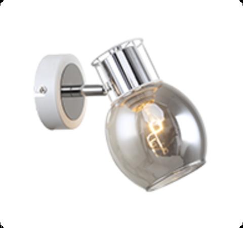 Настенный светильник Escada 1137/1A E14*40W White/Chrome