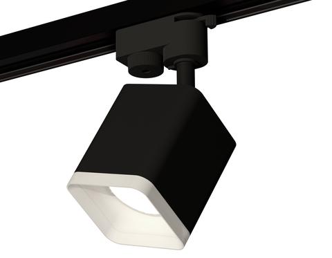 Комплект трекового светильника XT7813022 SBK/FR черный песок/белый матовый MR16 GU5.3 (A2521, C7813, N7755)