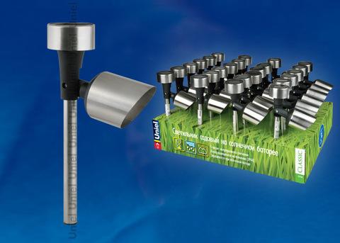 USL-C-690/MT375 SPOT SET24 Садовый светильник на солнечной батарее, в составе набора из 24шт. Белый свет. 1*ААA Ni-Cd аккумулятор в/к. IP44. TM Uniel.
