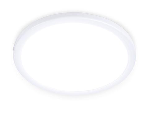 Встраиваемый ультратонкий светодиодный светильник с регулируемым крепежом DLR301 6W 4200K 220-240V D100*25 (A50-90)