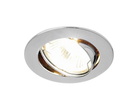 Встраиваемый точечный светильник 104S CH хром MR16