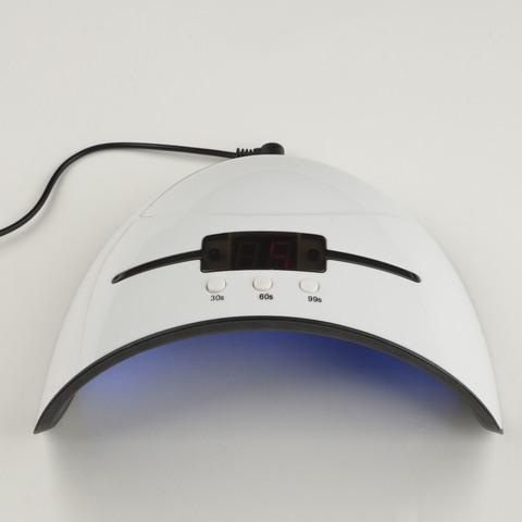 UDC-B20 36W/TM WHITE Лампа ультрафиолетовая для полимеризации гель-лаков. 36 Вт. Сенсор. Таймер 30/60/90 с. TM Uniel