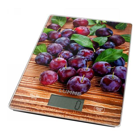 Весы кухонные сенсор LUMME LU-1340 (temp) спелая слива