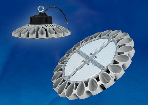 ULY-U30B-100W/NW IP65 SILVER Светильник светодиодный промышленный. Белый свет (4000K). Угол 60 градусов. TM Uniel.