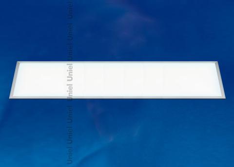 ULP-30120-36W/NW EFFECTIVE SILVER Светильник светодиодный потолочный встраиваемый. Белый свет (4000K). Корпус серебристый. В комплекте с и/п. ТМ Uniel.