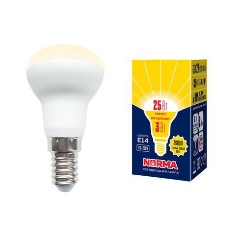 LED-R39-3W/3000K/E14/FR/NR Лампа светодиодная. Форма