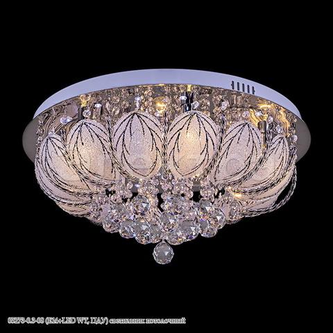 05273-0.3-08 (E14+LED WT, ПДУ) светильник потолочный