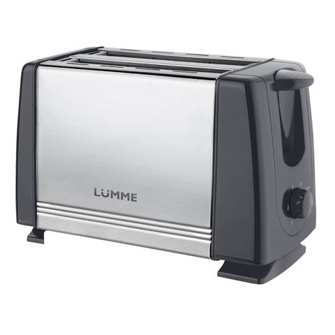 Тостер LUMME LU-1201 серый гранит