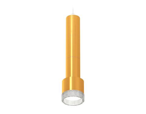 Комплект подвесного светильника с композитным хрусталем XP8121005 PYG/CL золото желтое полированное/прозрачный GX53 (A2301, C6327, A2062, C6327, A2062, C6327, A2101, C8121, N8480)