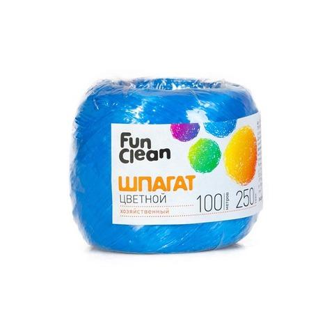 Шпагат Fun Clean полипропиленовый, 250 текс, 100м, цветной