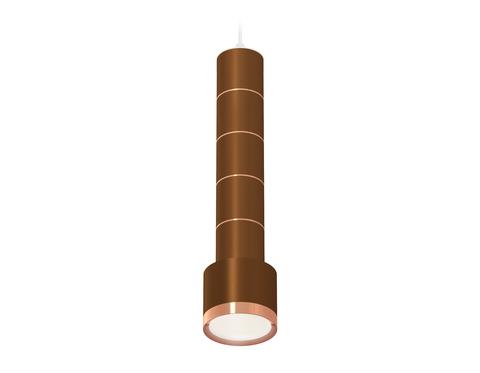 Комплект подвесного светильника XP8117001 SCF/PYG кофе песок/золото розовое полированное GX53 (A2301, C6304, A2063, C6304, A2063, C6304, A2063, C6304, A2063, C6304, A2101, C8117, N8126)