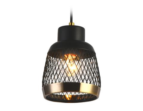 Подвесной светильник TR8005 SB/BK бронза/черный E27 max 40W D125*915
