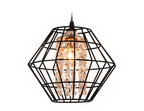 Подвесной светильник в стиле лофт TR5852 DCF/TI темный кофе/янтарь E27 max 40W D280*1200