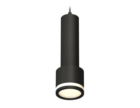 Комплект подвесного светильника с акрилом XP8111010 SBK/FR черный песок/белый матовый GX53 (A2302, C6356, A2101, C8111, N8415)