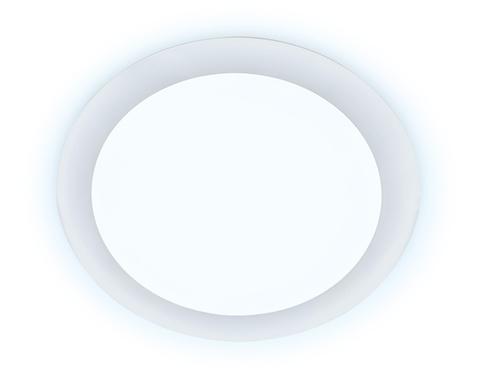 Ультратонкий светильник DLR 12W 6400K 185-250V (120W) (D165mm/A150mm)