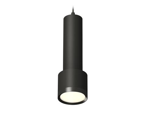 Комплект подвесного светильника XP8111001 SBK/PBK черный песок/черный полированный GX53 (A2302, C6356, A2101, C8111, N8113)