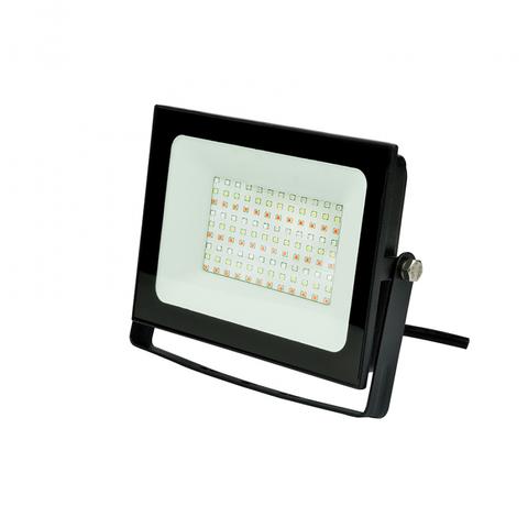 ULF-F60-50W/RGB IP65 200-240В BLACK Прожектор светодиодный. Мультиколор. Пульт ДУ (в/к). Корпус черный. TM Uniel