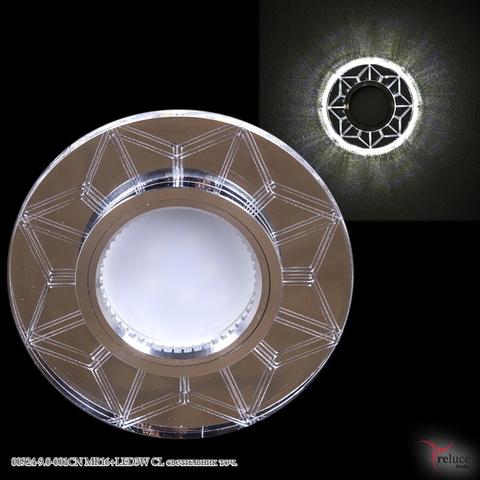 00924-9.0-001CN MR16+LED3W CL светильник точ.