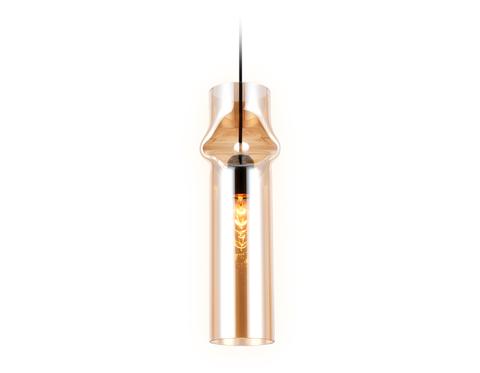 Подвесной светильник TR3560 BK/TI черный/янтарь E27 max 40W D130*1200