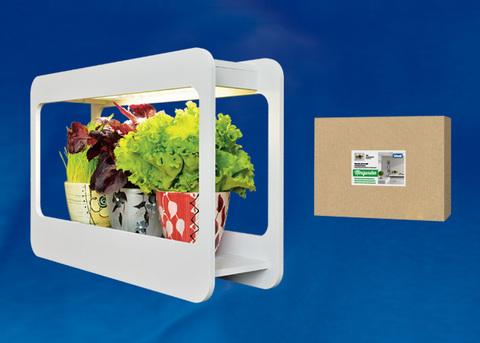 ULT-P30-15W/SPFS IP40 WHITE Светильник для растений светодиодный с подставкой «Минисад». Спектр для фотосинтеза с высокой цветопередачей. TM Uniel.