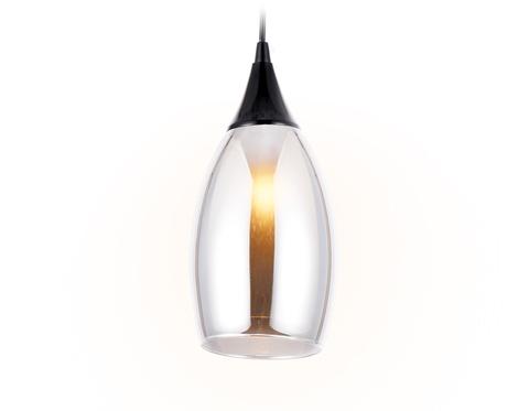 Подвесной светильник TR3544 BK/SM черный/дымчатый E14 max 40W D130*1000