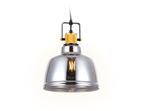 Подвесной светильник TR3527 SB/SM бронза/дымчатый E27 max 40W D220*1000