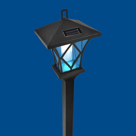 USL-S-185/PM1000 RETRO Садовый светильник на солнечной батарее «Ретро». 2 светодиода. Белый свет. 1*АА Ni-Mh аккумулятор в/к. IP44. TM Uniel