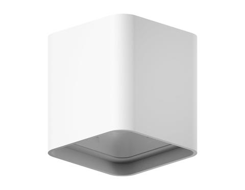 Корпус светильника накладной для насадок 70*70mm C7840 SWH белый песок 95*95*H100mm MR16 GU5.3
