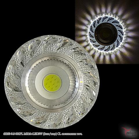 42203-9.0-001PL MR16+LED3W CL светильник точ.