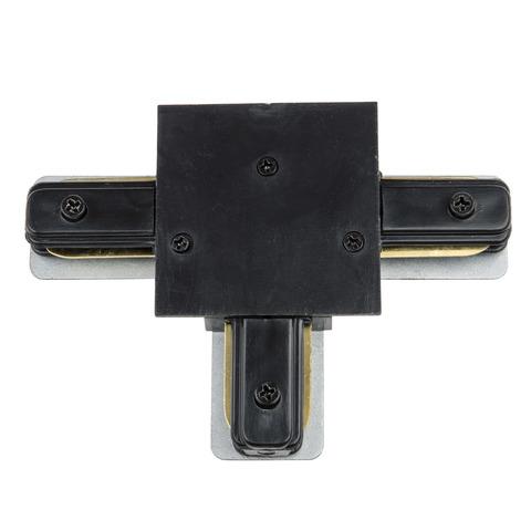 UBX-Q123 R31 BLACK 1 POLYBAG Соединитель для шинопроводов типа R, Т-образный Однофазный. Черный. ТМ Vople