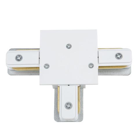 UBX-Q123 R31 WHITE 1 POLYBAG Соединитель для шинопроводов типа R, Т-образный Однофазный. Белый. ТМ Vople