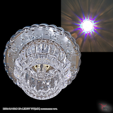 11004-9.0-001G G9+LED3W WT(MIX) светильник точ.