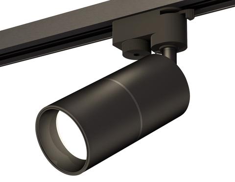 Комплект трекового однофазного светильника XT6302010 SBK/PBK черный песок/черный полированный MR16 GU5.3 (A2521, C6302, A2061, C6302, N6111)