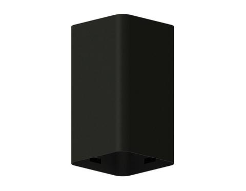 Корпус светильника накладной для насадок 70*70mm C7821 SBK черный песок 70*70*H125mm MR16 GU5.3