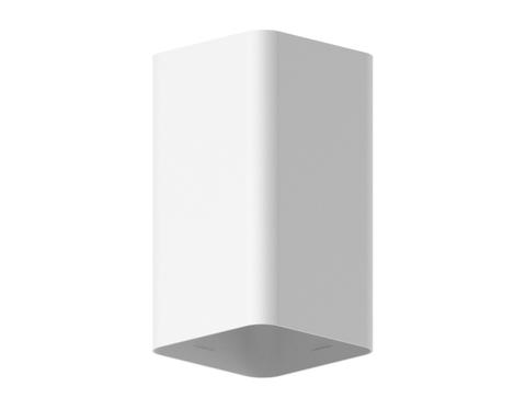 Корпус светильника накладной для насадок 70*70mm C7820 SWH белый песок 70*70*H125mm MR16 GU5.3