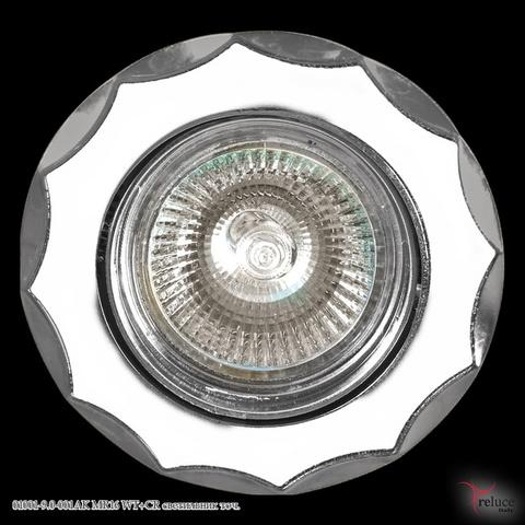 01001-9.0-001AK MR16 WT+CR светильник точ.