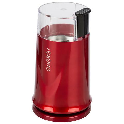 Кофемолка ENERGY EN-110, цвет красный, 150Вт