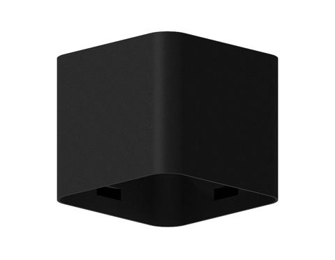 Корпус светильника накладной для насадок 70*70mm C7806 SBK черный песок 70*70*H60mm MR16 GU5.3