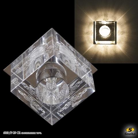 6019/F G9 CR светильник точ.